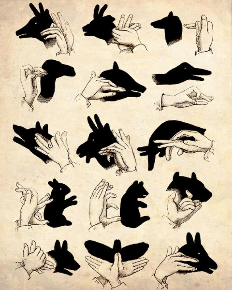Своими руками фигурки из теней